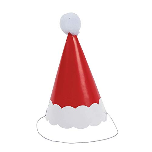Fun Express PAPER SANTA HATS