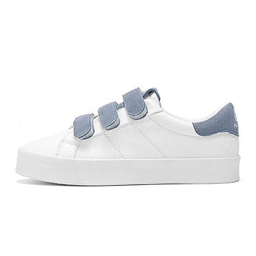 Wuyulunbi@ Frühling und Herbst weiße Schuh Schnalle Schnalle Schnalle Schuhe Sohlen Schuhe Baiqianlan 387811