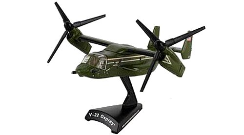 Daron Worldwide Trading Postage Stamp Presidential Mv-22 Osprey 1/150 Hmx- Airplane Model (V22 Model)
