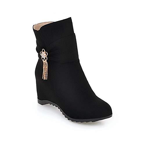 Sandales Noir Compensées Femme 36 Abl10871 Noir Balamasa 5 SIw1W5qnx