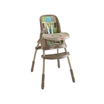 Fisher-Price Grow with Me High Chair, Rainforest Friends