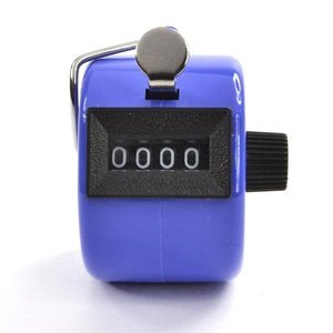 Bluecell Blue Color Handheld Tally Counter 4 Digit Display for Lap/Sport/Coach/School/Event (Lap Counter With Timer compare prices)