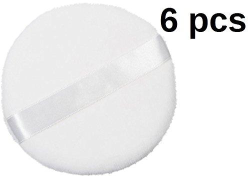 DMtse Set of 6 Round Jumbo Velour Powder (Velour Body)