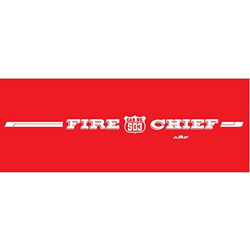 Speedway Motors AMF Generic Fire Chief 503 Graphic