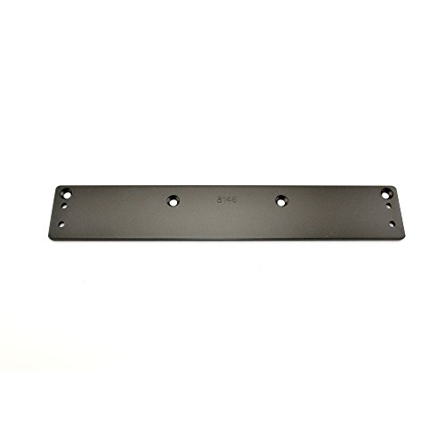 Stanley Commercial Hardware Small Drop Plate Kit for QDC200 Series Heavy Duty Door Closers, Pull and Push, 2.44