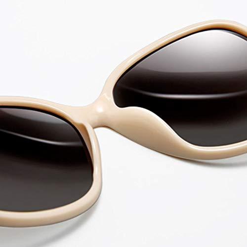 Miroir à de Des Femme Soleil soleil de Femmes Grenouille lunettes Lunettes Mince Fashion pour polarisée B Sport Monture w1w68qY