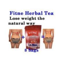 8 Tea Bags Fitne Fast Slim Herbal Natural Slimming Detox Weight Loss Laxative