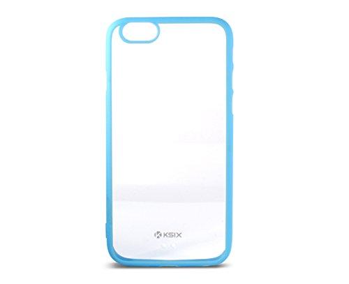"""Ksix b0925CF05 fusion edge coque de protection transparente en tPU pour apple iphone 6 4,7 """"/ 11,2 cm (bleu)"""