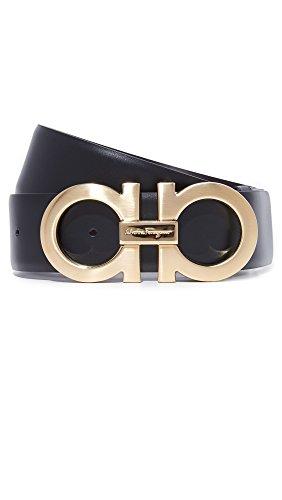 Salvatore Ferragamo Men's Double Gancio Reversible Belt
