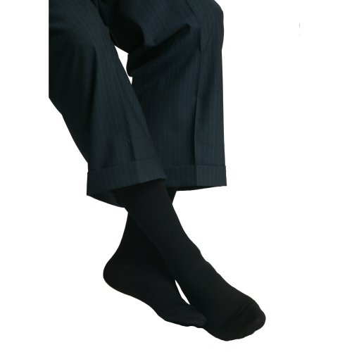 Gradués Chaussettes de soutien de compression de Maxar Hommes (18-20 mmHg), X-Large, Noir