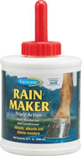 Hoof Stick - Farnam Rain Maker Triple Action Hoof Moisturizer and Conditioner, 32 fl oz