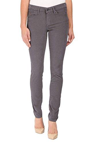 Calvin Klein Jeans Women's Skinny Jean (Gray Shadow Corduroy, 4x30)