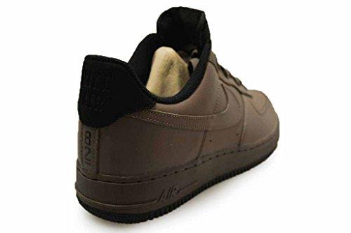 Nike Herren Air Force 1 '07 LV8 Mode Schuhe Licht Armoury Blau / Weiß / Schwarz Dunkler Pilz 213
