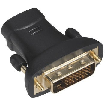 RadioShack Male DVI-to-Female HDMI Adapter (Dvi Cable Shack Radio)