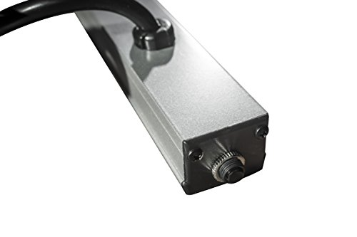 Brooks Power Systems SL15-36-10-15 Slim Line Series Multiple Outlet Strip for Use In Electronic Cabinets, Work Benches, Lab Tables & OEM Applications, 10 Outlets, 15 Foot Cord, Gray by Brooks Power Systems (Image #2)