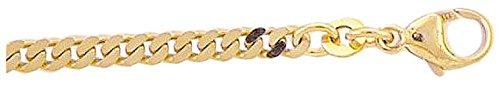 Bracelet Gourmette Plat en or 33318,5cm