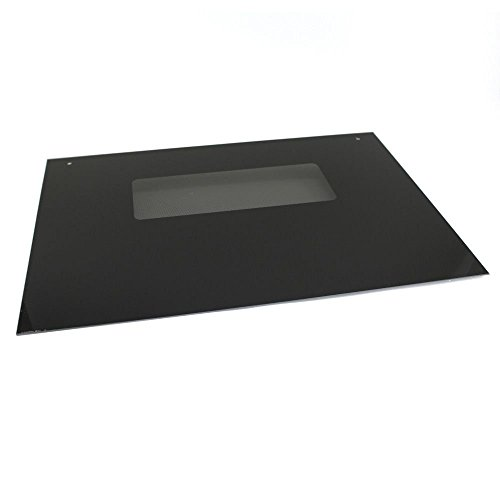 GE WB57T10110 Outer Oven Door Glass - Black ()