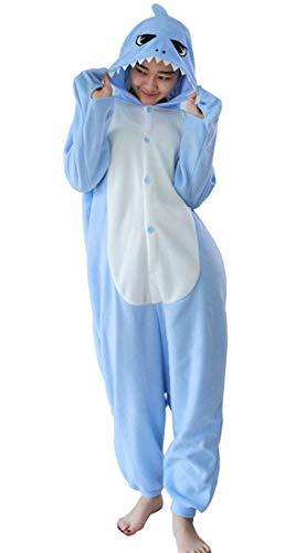 Carnevale Squalo Adulti Kigurumi Halloween Costume Squalo Cosplay Pigiama Unisex Animale YfHU7q