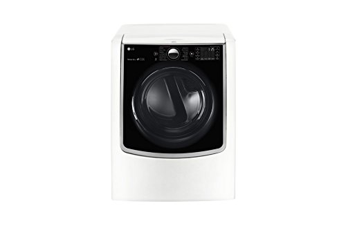 LG DLGX5001W TurboSteam 7.4 Cu. Ft. White Stackable With Steam Cycle Gas Dryer - Energy Star best gas dryer