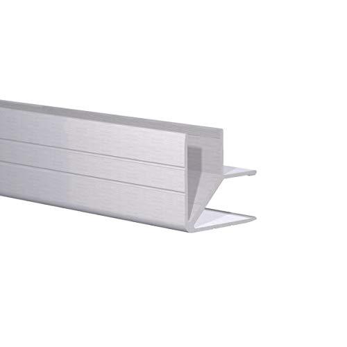 (Orange Aluminum - Double Angle Edge: Fits 1/2