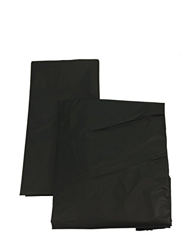 Set of 6 Plastic Table Covers with 6 Table Skirts for Parties -