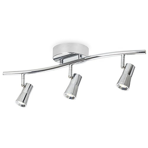 nicor lighting 10989wh4head white track lighting kits. accessories ceiling track light : 4-light dimmable contour in chrome finish, nicor lighting 10989wh4head white kits