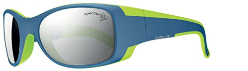 Julbo Kid's Booba Sunglasses, Spectron 4 Baby Lens, Blue/Lime Green, 4-6 years