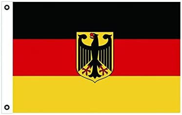 Bandera de Alemania con águila (150 x 90 cm): Amazon.es: Jardín