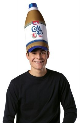 Colt 45 Liquor Bottle Hat (Colt 45 Hat)