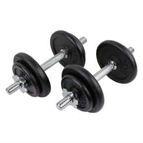 Confidence - Juego de pesas de 20kg/u