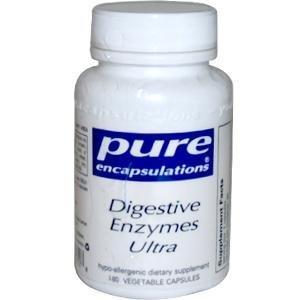 Pure Encapsulations - enzymes digestives Ultra 180 VegiCaps [Santé et beauté]