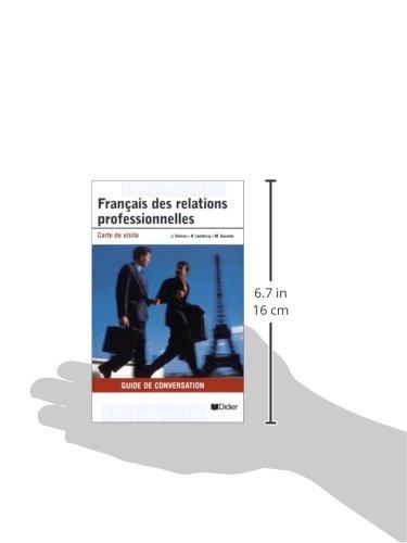 Francais Des Relations Professionnelles