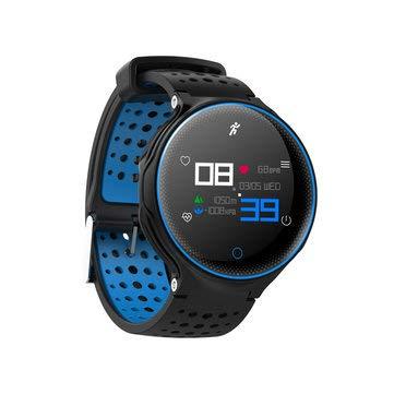 Microwear X2 Plus 1.04inch IP68 Heart Rate Monitor 180Days Long Standby Smart Watch - Smart Watch & Band Smart Wristband - (Blue) - 1 x Digital ...
