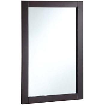 Design House 547075 20 30-inch Vanity Mirror, Espresso