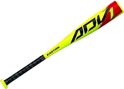EASTON ADV1 -13 USA Youth / Kids Tee Ball Baseball Bat | 2 5/8 in Barrel | 24 in / 11 oz | 2020 | 1 Piece Composite | Hyperlite Composite Engineered - Fastest Swing Weight Tee Ball Bat | Comfort Grip (Youth Composite Tball Bats)