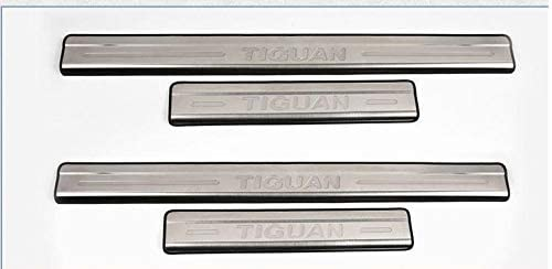 Auto Repair Accessories Accessories FIT for VW TIGUAN Stainless Door Scuff Sill Plates Entry Panel Cover Protector 2009 2010 2011 2012 2013 2014 2015