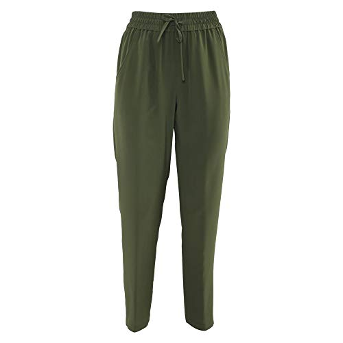 Verde Aspesi Seda Pantalón Mujer H114b75305392 qOHw4R