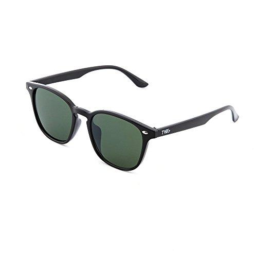 mujer TWIG Oscuro degradadas Verde espejo sol FRIDA Negro de Gafas xZqAYwTEpW