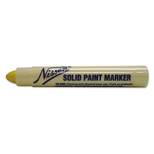 Nissen SPYES Standard Solid Paint Marker, Yellow