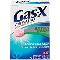 Gas-X Tabletas masticables-Crema de cereza-18 ct.