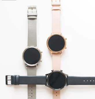 Smart Watch TicWatch C2, Wear OS by Google Classic smartwatch, IP68 Sweat and Waterproof, Google Pay, Compatible with iPhone and Android
