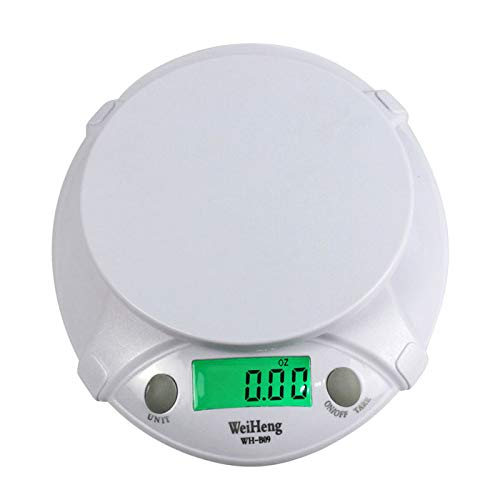a05649b463dc Digital Scale,LtrottedJ Digital LCD Electronic Scale ,7Kg/1g with Food Disk  Kitchen/Laboratory