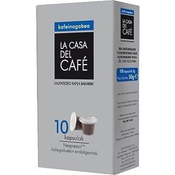 Cápsulas Café Colombia Descafeinado compatibles Nespresso (10 Uds.): Amazon.es: Hogar