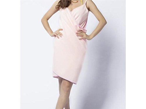 Gelaiken Women Absorbent Microfiber Magic Towel Spaghetti Strap Quick-Dry Bath Dress Multi-Purpose Accessories