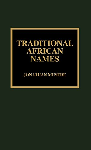 Search : Traditional African Names