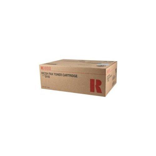 Ricoh FAX5510L Fax Toner 10000 Yield Type 5110 - Genuine Orginal OEM toner (Ricoh 5110 Toner Type Fax)