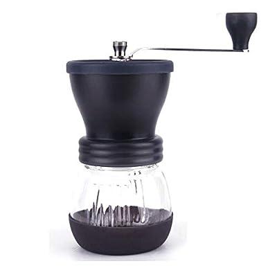 Clearance Sale!DEESEE(TM)Manual Coffee Grinder Ceramic Coffee Mill Burr Coffee Grinde BK by DEESEE(TM)