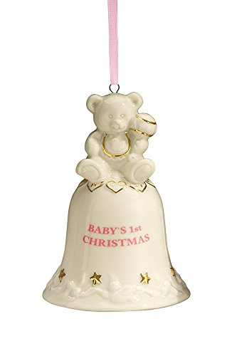 Babys First Christmas Bell Ornament