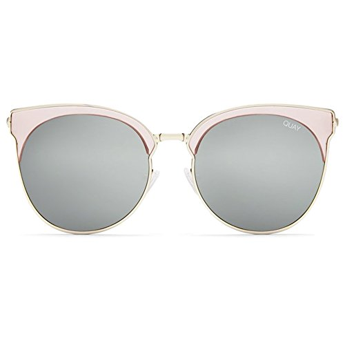 Quay Mia Bella Sunglasses | Cat Eye Frames - Mirror Lens | UV - Kitti Sunglasses