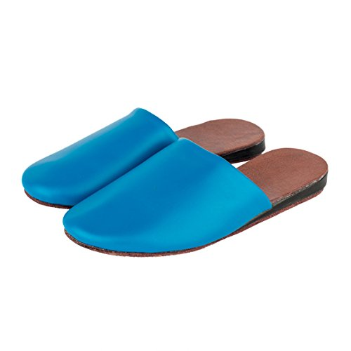 Spring Toes Indoor Slippers Anti Sandals Blue House Leather PU Summer Slip Womens Haisum Closed wxSEtqIEY